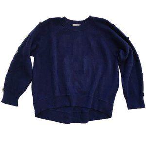 Dorothee Schumacher Convertible Sweater 6 XXL Blue